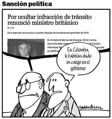 Repaso de 2012, en 70 caricaturas de Vladdo (4/6)