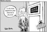El ministro de Justicia, maniatado; pero luego agradeció al Congreso por aprobar una reforma fatal.