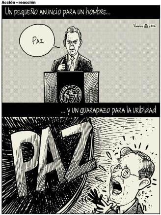 JMS anunció diálogos con las FARC.