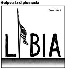 Fue asesinado el embajador de EE.UU. en Libia.