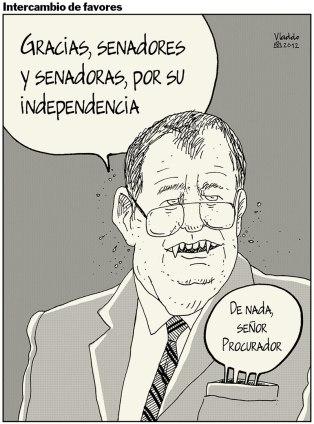 Como se temía, Ordóñez fue reelegido por el Congreso.