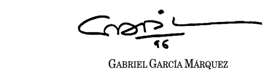 gabo-firma